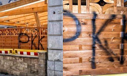Almanya'da Terör Örgütü PKK Yandaşları Camiyi Hedef Aldı