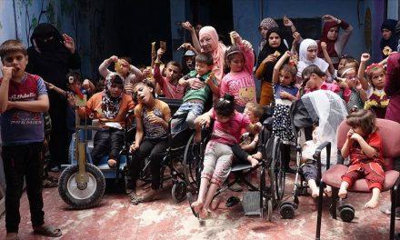 Halepli 70 Yaşındaki Nurulhüda Evini Okula Çevirerek 60 Engelli Çocuğa Umut Oldu
