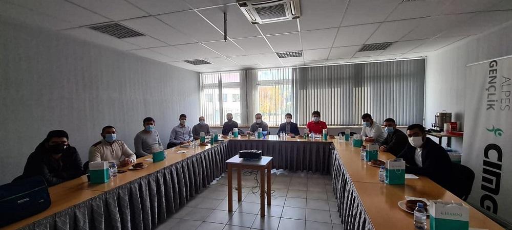 Fransa İslam Toplumu Millî Görüş (CIMG) Alpes Bölgesi Gençlik Teşkilatı Başkanı Mustafa Pala, görevini Mikail Tamtürk'e devretti.