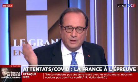"""Fransa Eski Cumhurbaşkanı Hollande: """"Müslümanlarla Teröristleri Bir Tutmayalım"""""""