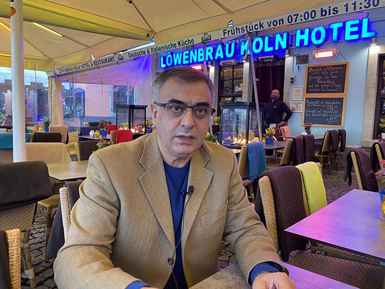 LöwenBrau Otel ve Restoran sahibi Fazıl Bay @aa