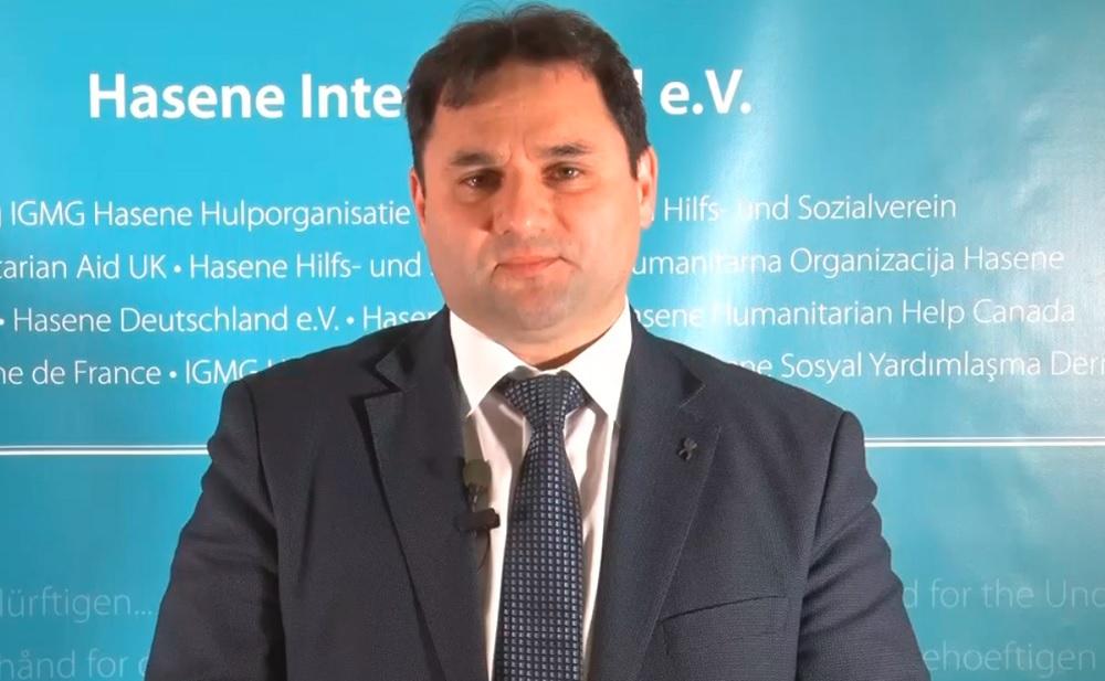 Hasene International e.V. Başkanı Mesud Gülbahar