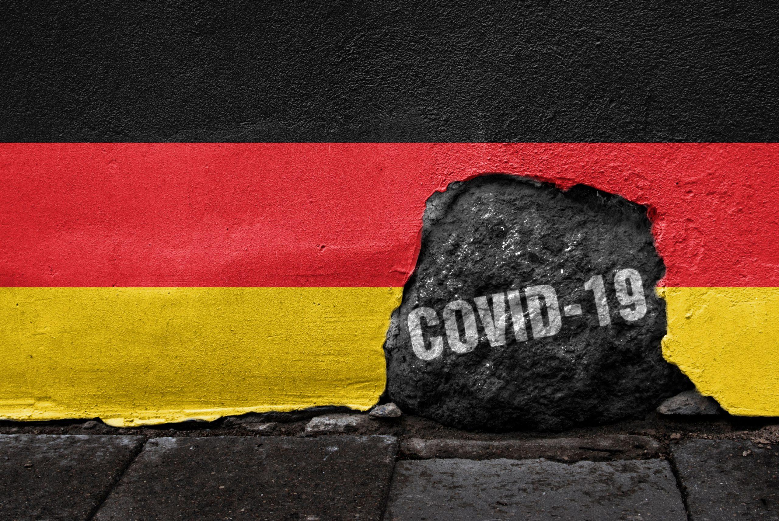Almanya'da koronavirüs salgınında son 24 saate 14 bin 909 vaka tespit edildi. @Shutterstock
