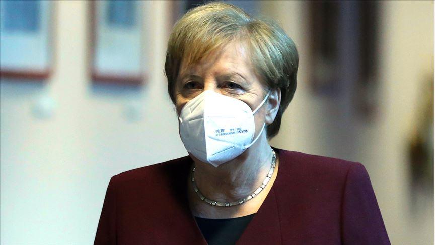 Almanya Başbakanı Angela Merkel @aa