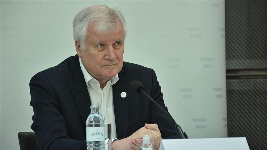 Almanya İçişleri Bakanı Horst Seehofer @aa