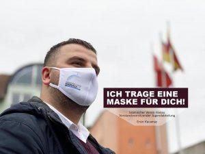 IGMG Hanau İslam Cemiyeti Gençlik Teşkilatı Başkanı Ersin Kaçamaz