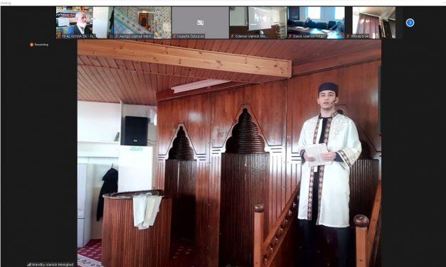 Danimarka İslam Toplumu Hutbe Ve Müezzinlik Yarışması Düzenledi