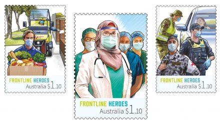 Avustralya'da Teşekkür Pullarında Başörtülü Müslüman Kadın Doktor