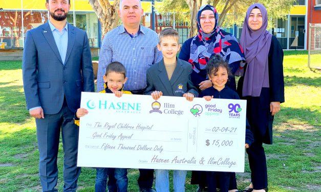 Avustralya'da Çocuk Hastanesine Anlamlı Bağış