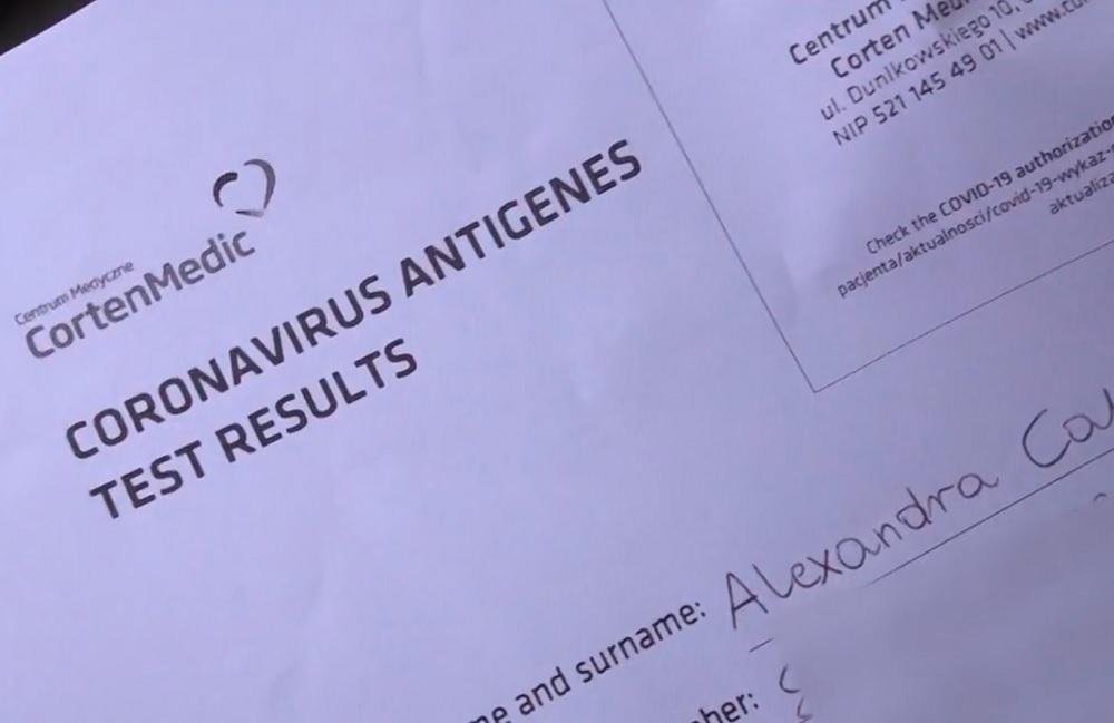 Avrupa'da internet üzerinden sahte negatif koronavirüs test sonuçlarının satışa çıkarıldığı ortaya çıktı.