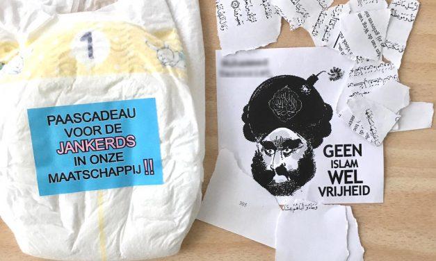 """Hollanda'da Camiye Sözde """"Paskalya Hediyesi"""": Hakaret Mektubu"""