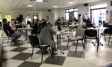 Achim Ravza Camiinde 100 Kişi Aşılandı