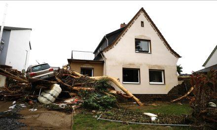 Almanya'da Sellerde Ölenlerin Sayısı 103'e Yükseldi