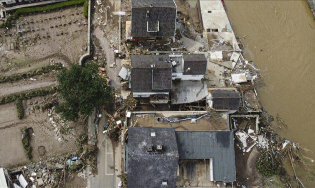Almanya'da Sel Felaketinde Ölenlerin Sayısı 156'ya Yükseldi