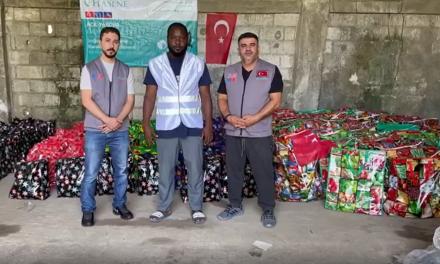 Hasene'den Haiti'deki Depremzedelere Gıda Yardımı