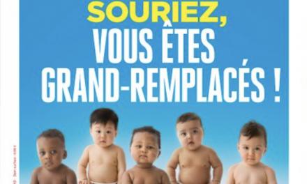 """Fransa'nın Aşırı Sağcı Causeur Dergisinden Irkçı Kapak: """"İyi Yer Kaptınız"""""""