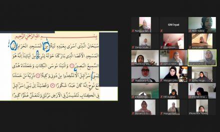 Avrupa'da Genç Kızlar Al-Huda Kursu ile Kur'an Yarışması'na Hazırlandı